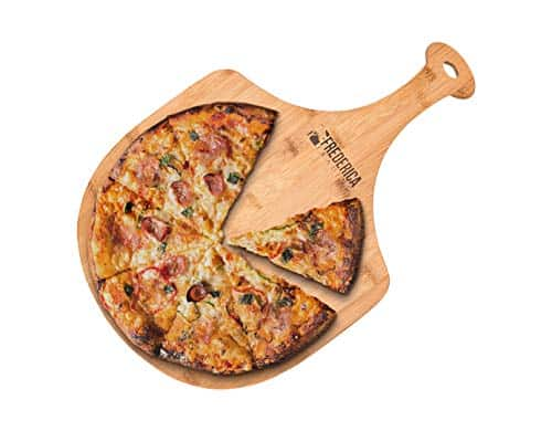 Frederica Trading Bamboo Wooden Pizza Peel Paddle