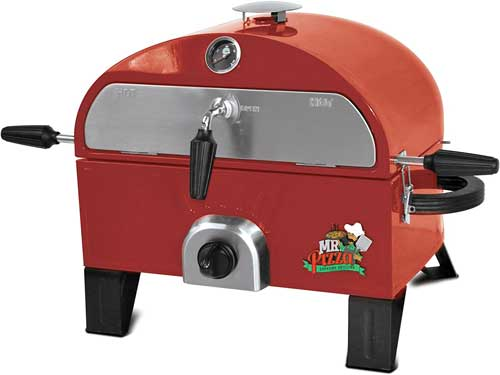 Mr. Pizza GOT1509M Pizza Oven, Red Gas Grill