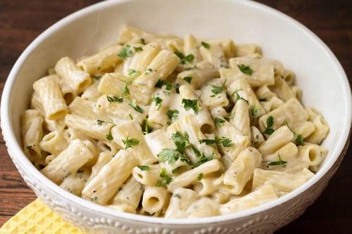 A Quick Pasta Cream Recipe