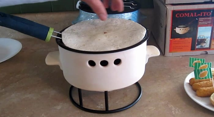 A Tortilla Warmer