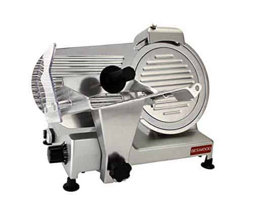 "BESWOOD250 10"" Premium Electric Meat Slicer"