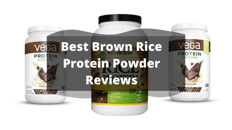Best Brown Rice Protein Powder Reviews