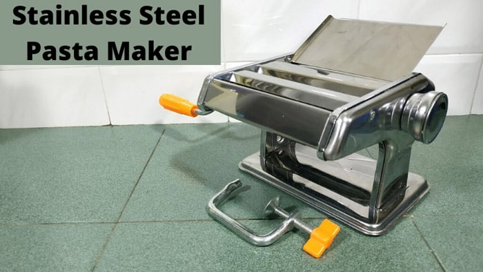 Cleaning Your Stainless Steel Pasta Maker