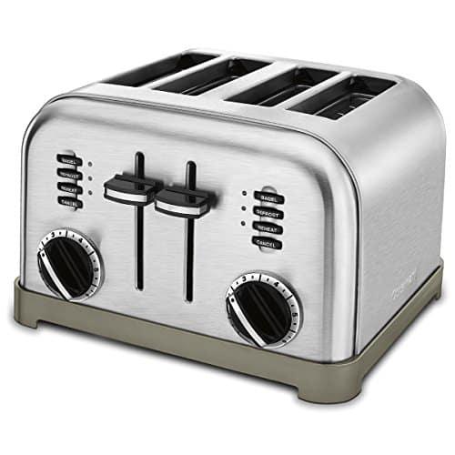 Cuisinart CPT-180 Metal Classic 4- Slice Toaster