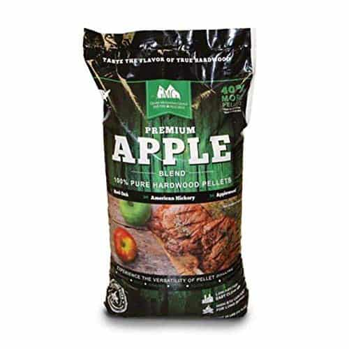 Green Mountain Grills Premium Apple 100% Pure Hardwood Pellets