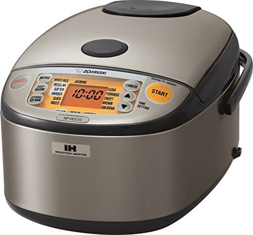 IH System Rice Cooker and Warmer NP-HCC10