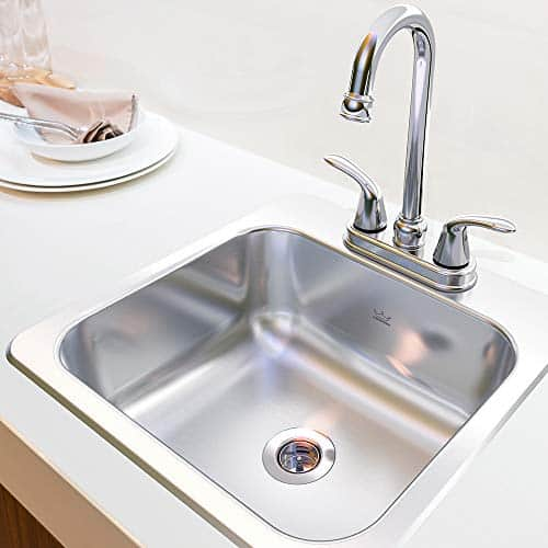 KINDRED Stainless Steel 15 x 6-inch Deep Sink