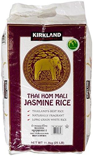 Kirkland Jasmine Rice - 25 lbs