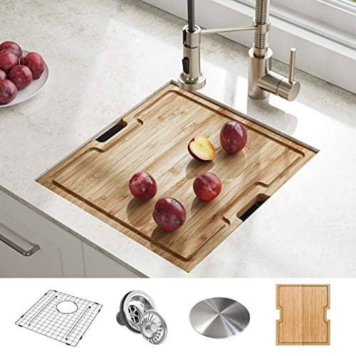 Kraus KWU111-17 Kore Workstation Undermount Kitchen Sink