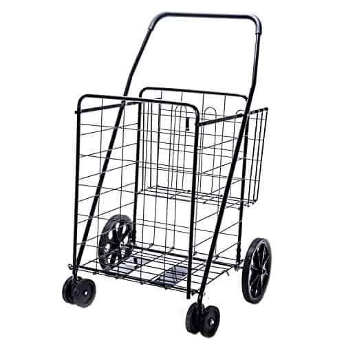 LS Jumbo Deluxe Folding Shopping Cart