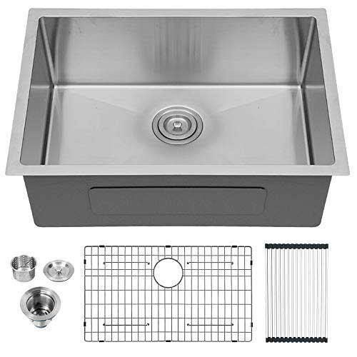 Lordear 26 inch Stainless Steel Undermount Kitchen Sink