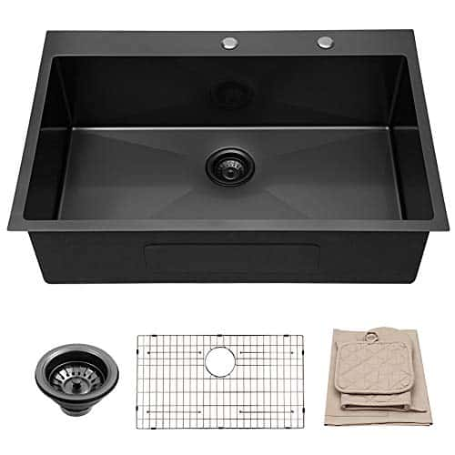 Lordear 30x22 inch Kitchen Sink