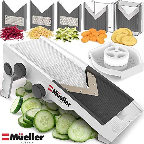 Mueller Austria Premium Quality V-Pro Multi Blade Adjustable Slicer