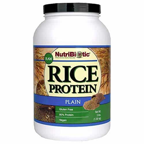 NutriBiotic Raw Rice Protein Plain 3 lbs 1 36 kg