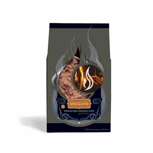 Outset F703 Mesquite Wood BBQ Smoking Chips