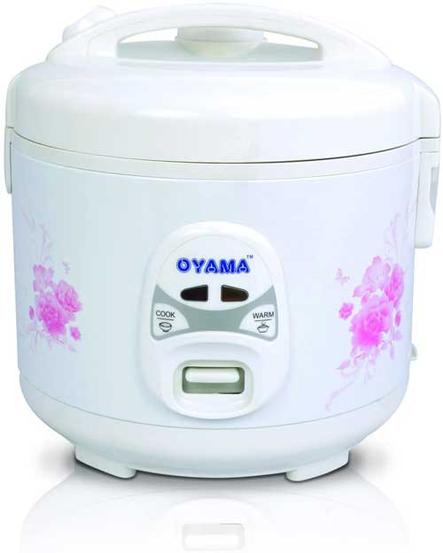Oyama 6-Cup (Uncooked) Rice cooker