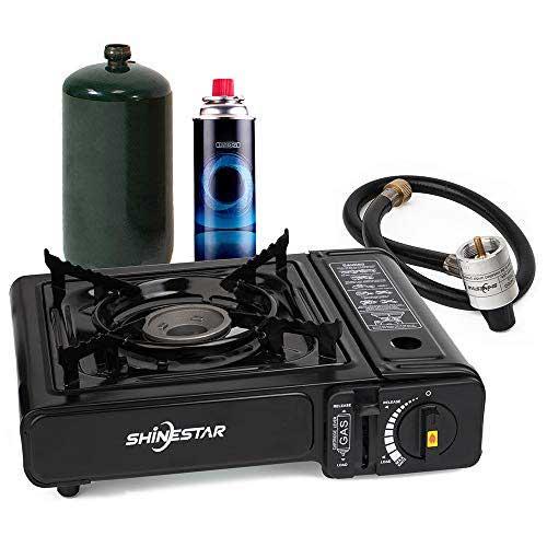 SHINESTAR Dual Fuel Propane and Butane Gas Stove
