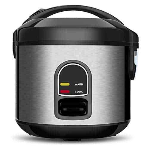 Small Electric Rice Cooker Food Steamer 5 Cup Mini Rice Maker