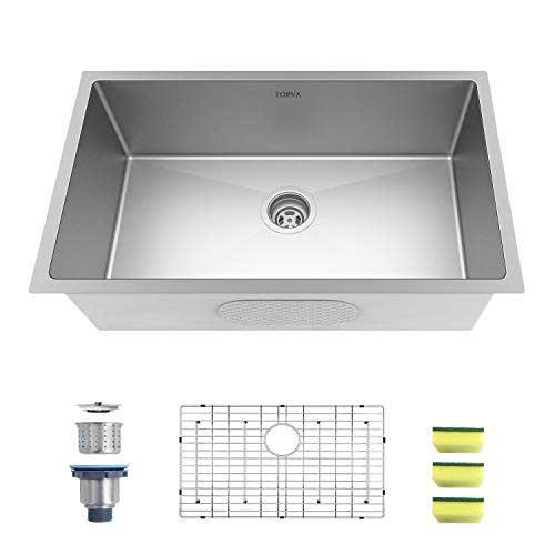 TORVA 32-Inch Undermount Kitchen Sink