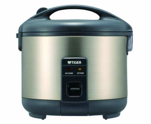 Tiger JNP-S10U-HU Rice Cooker and Warmer, Stainless Steel