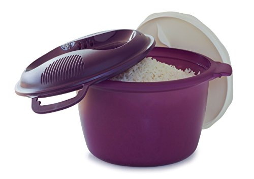 Tupperware Rice Cooker Purple Large 3L or 12 cup