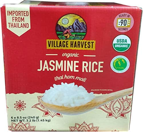 Village Harvest Organic Jasmine Rice – 3 lbs