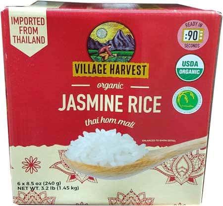 Village Harvest Organic Protein Blend Brown Jasmine – 1 lb