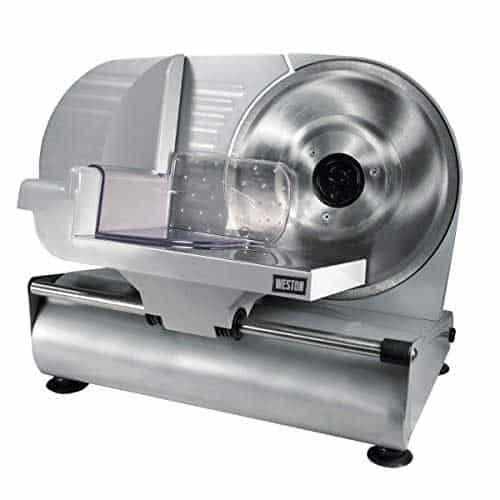 Weston 61-0901-W Heavy Duty Meat and Food Slicer