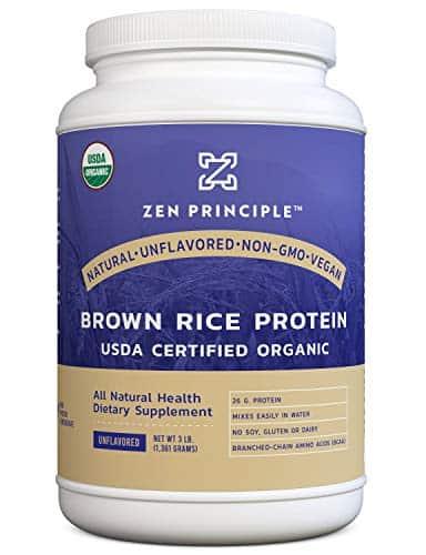 Zen Principle 3 lb. Organic Brown Rice Protein Powder