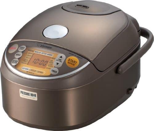 Zojirushi Induction Heating Pressure Rice Cooker & Warmer 1.0 Liter