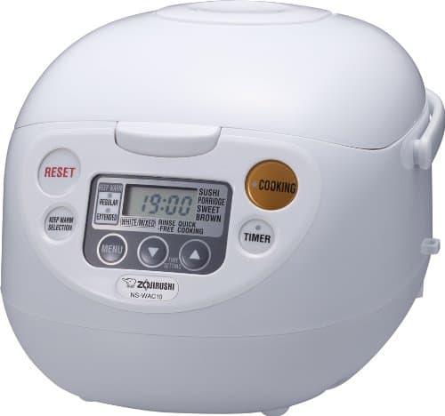 Zojirushi NS-WAC10-WD Micom Rice Cooker and Warmer