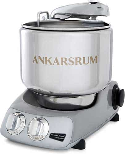 Ankarsrum Original 6230 Stainless Steel 7 Liter Stand Mixer