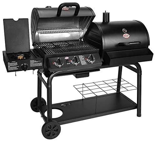 Char-Griller 5050 Duo Gas-and-Charcoal