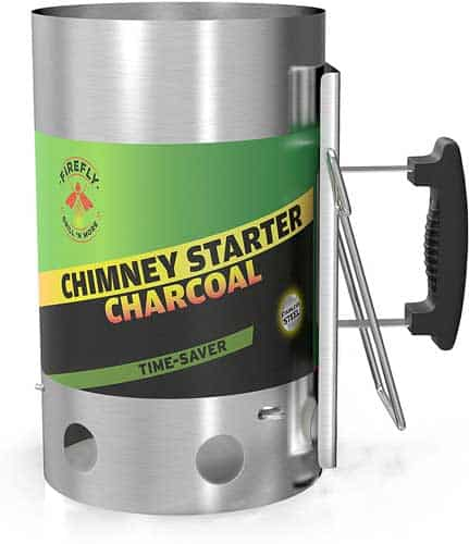 Firefly Grill 'N More Charcoal Chimney Starter