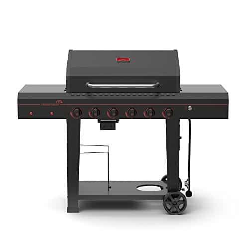 Megamaster 6 Burner 720-0983 Propane Gas Grill