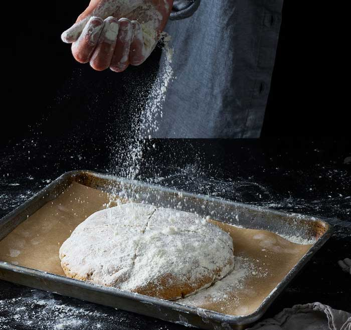 Mixing Whole Wheat Flour