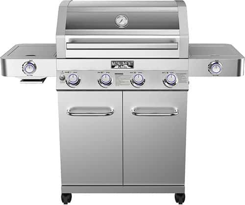 Monument Grills 35633 4-Burner Propane Gas Grill
