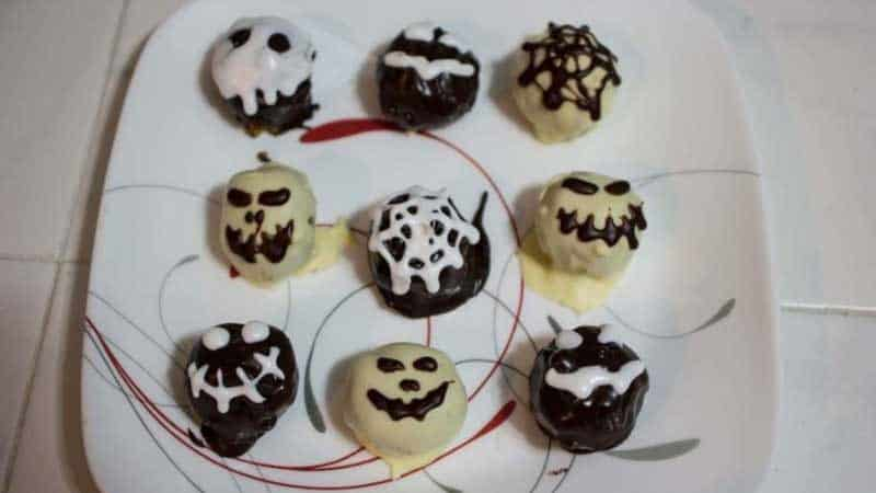 Peanut Butter Cheesecake Halloween Truffles Recipe