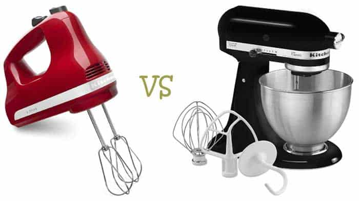 Stand Mixers vs. Hand Mixers