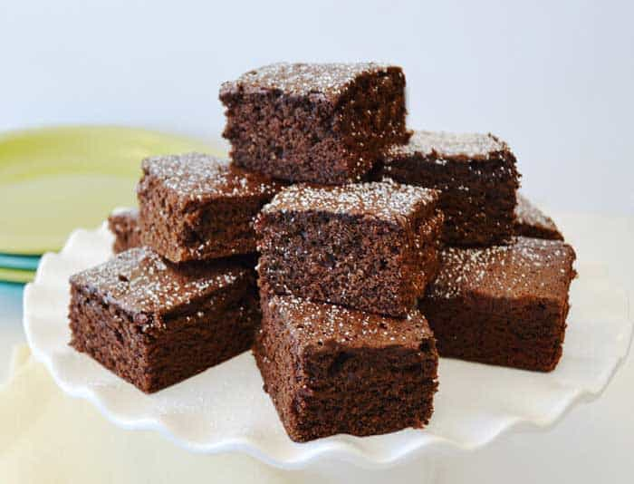 Cake-like Brownie Treat