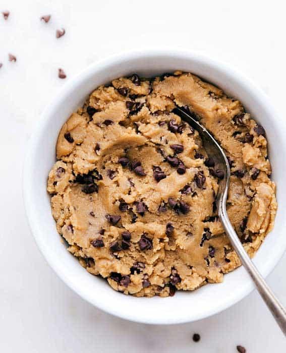 Frozen Cookie Butter Cookie Dough