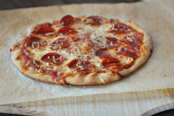 Crispy Pizza Crust Without A Pizza Stone
