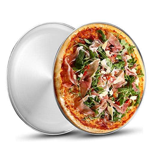 Deedro Stainless Steel Pizza Pan
