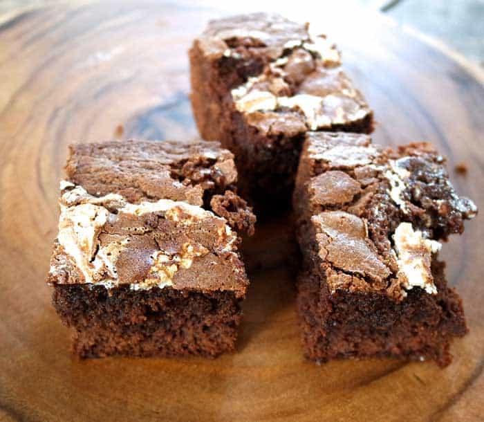 Marshmallow Box Brownies