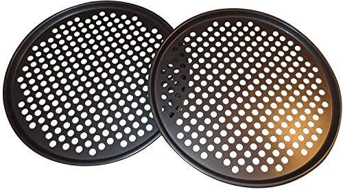 Pack of 2 Pizza Pans with Holes