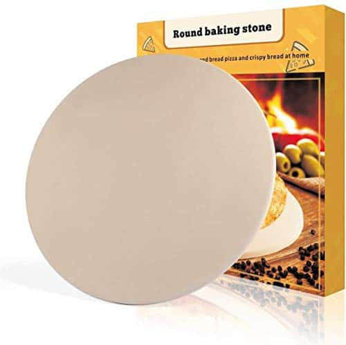 Pizza Stone Round Engineered Tuff Cordierite Durable Baking Stones
