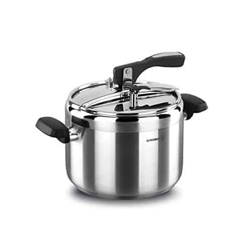 korkmaz Turbo Stainless Steel Induction Compatible Pressure Cooker