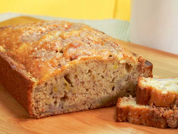 Banana Bread with Crumb Topping