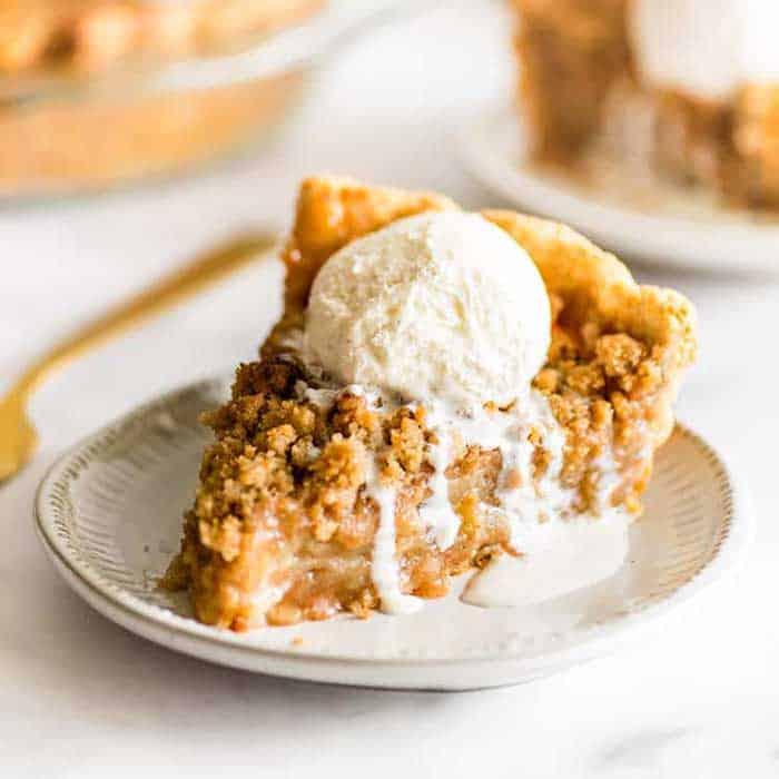 Making Dutch Apple Pie