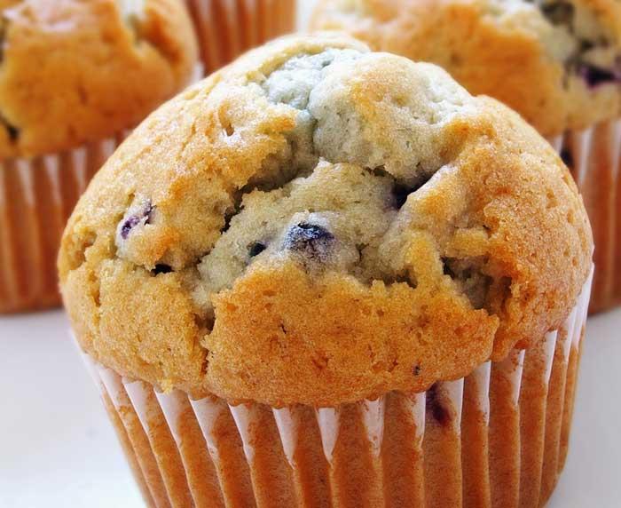 Organically Made Muffins with Pancake Mix